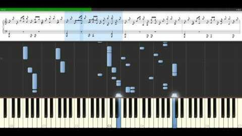 Eurythmics - There Must Be An Angel Piano Tutorial Synthesia