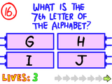 Question 16 (The Impossible Quiz)