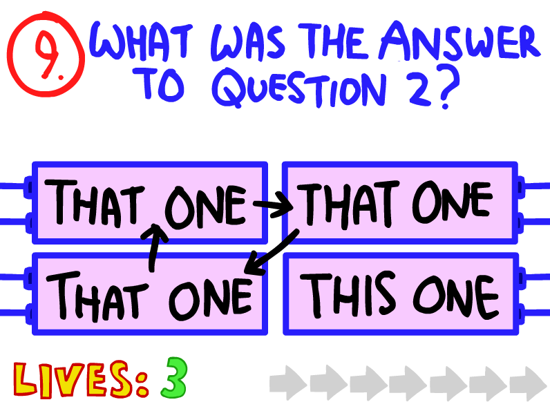 question 9 the impossible quiz the impossible quiz wiki fandom