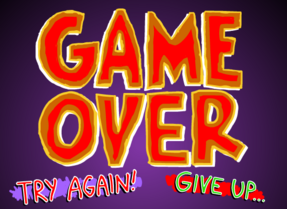 TIQ2 Game Over