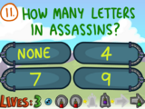 Question 11 (The Impossible Quiz Book)