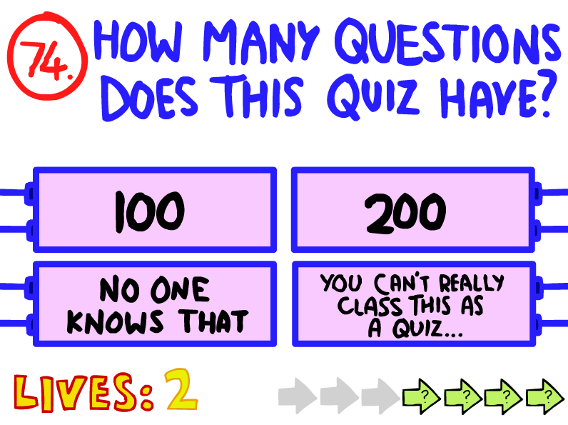 Question 74 (The Impossible Quiz)   The Impossible Quiz Wiki