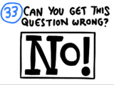 Question 33 (The Impossible Quiz Beta)