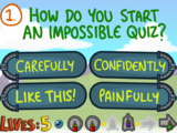 Question 1 (The Impossible Quiz Book)