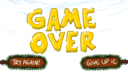 TIQmas Game Over