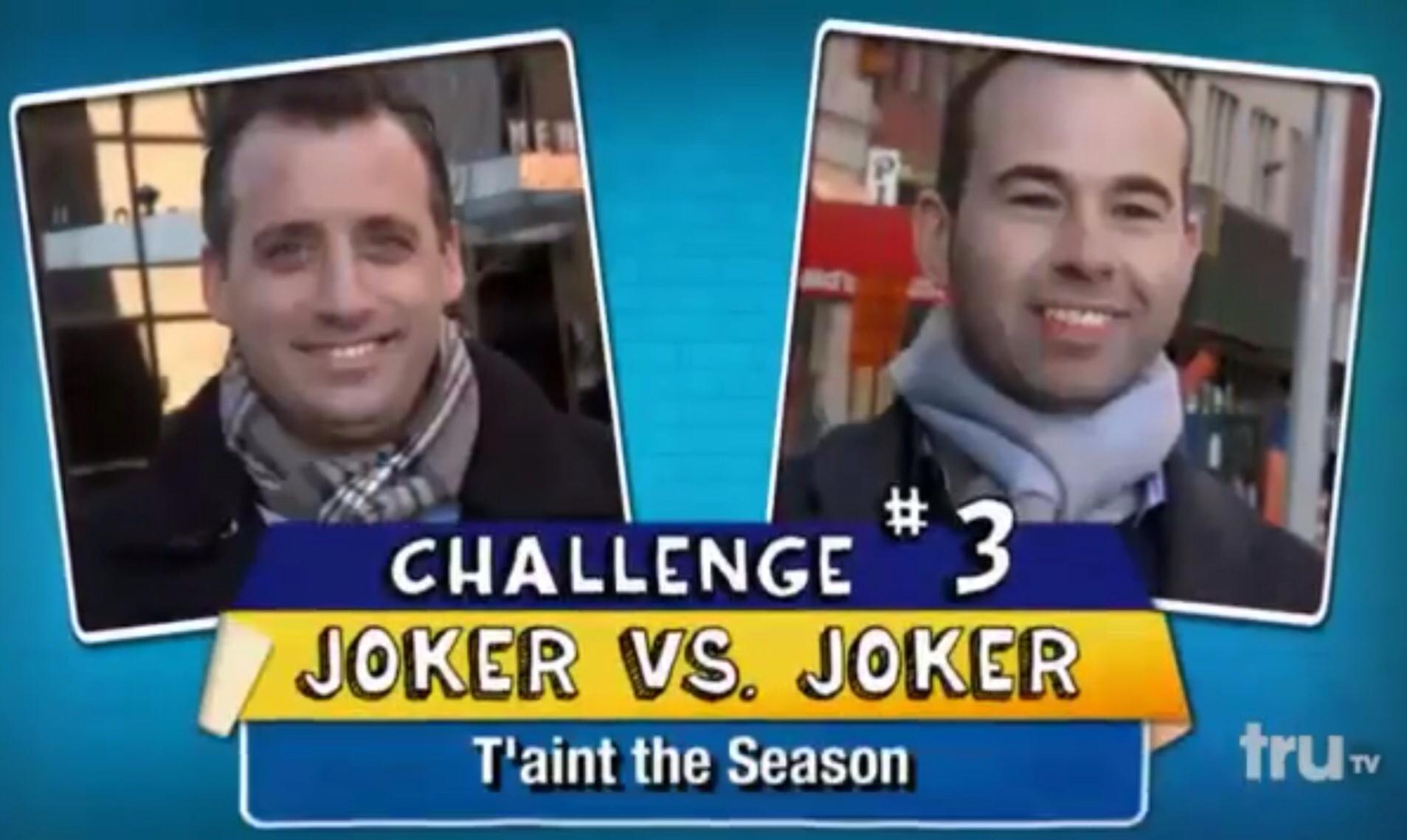 Joker vs joker challenge impractical jokers wiki fandom powered example of a joker vs joker challenge ccuart Image collections