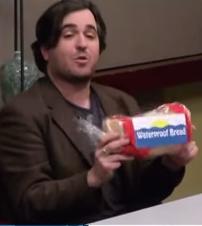 Waterproof bread