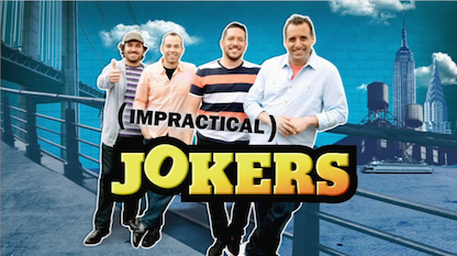 Impractical jokers stripped naked and almost arrested