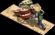 Bean curd carried