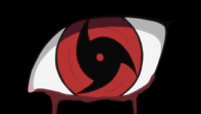 El Mangekyo de Itachi despierta