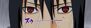 Eien Mangekyo Sharingan de Sasuke Full Color HD
