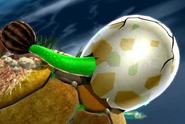 Dino Piranha in egg