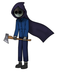 Hoodless and without Mask