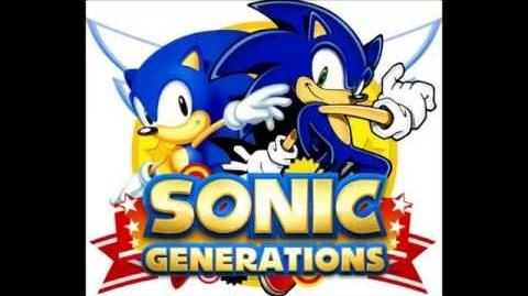Sonic Generations 3DS - Emerald Beach (Unlockable)