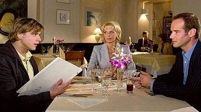 In aller Freundschaft Achim und Alexandra und Sebastian