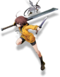 Linne (BlazBlue Cross Tag Battle, Character Select Artwork)