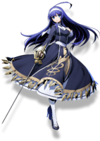 Orie Ballardiae (BlazBlue Cross Tag Battle, Character Select Artwork)