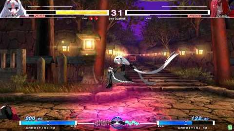 UNDER NIGHT IN-BIRTH Vatista Gameplay