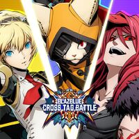 BlazBlue Cross Tag Battle DLC (promotional material, Aigis, Carmine, Jubei)