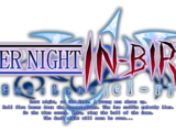 UNDER NIGHT IN-BIRTH Exe:Late cl-r