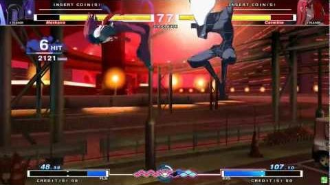UNDER NIGHT IN-BIRTH Merkava Gameplay