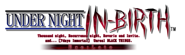 Under Night In-Birth exe:late[st] tournament