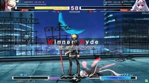 UNDER NIGHT IN-BIRTH Hyde Gameplay