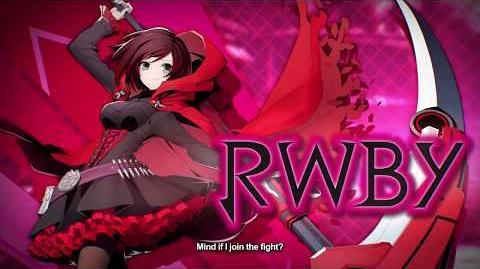 BlazBlue Cross Tag Battle Teaser Trailer RWBY Japanese 1080p HD