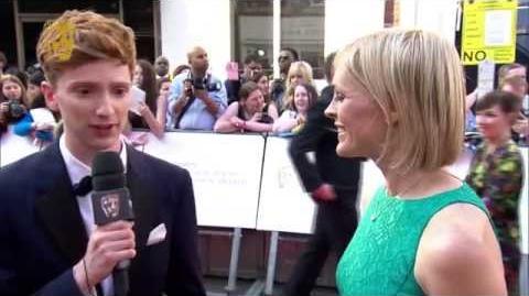 Luke Newberry - BAFTA Television Awards Red Carpet in 2014