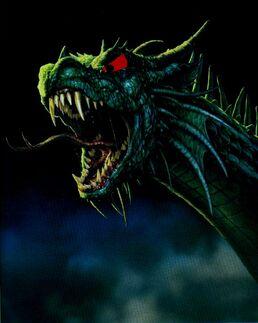 Sharptooth the sea-dragon