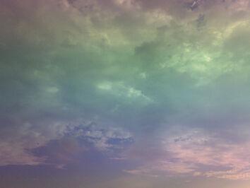 Rainbow Sky by TiizhaPsyCute