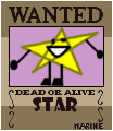 Star's wanted poster
