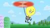 S2e10 lightbulb flying