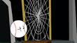 S2e6 web in front of house door