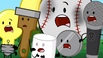 S2e10 lightbulb, paintbrush, marshmallow, baseball, nickel and microphone