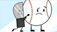 S2e1 knife tries to push baseball off