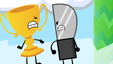 S2e1 knife punches trophy off