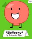 Balloon on BFDI