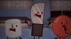 II Anniversary T-Shirt Screenshot Marshmallow, Knife and Balloon