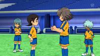 Shindou giving advice to Aoyama CS 35 HQ