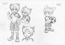 Arion and JP concept art