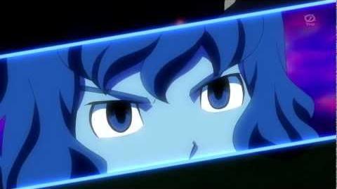 イナズマイレブンGO! クロノ・ストーン Shindou's Keshin-Armed (HD)