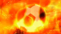 A Soccer Ball Burning CS 5 HQ