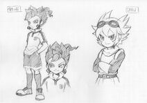 Victor and Saru concept art