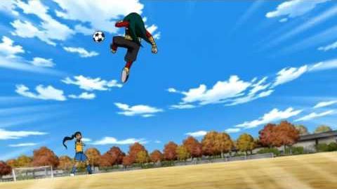 Inazuma Eleven GO Chrono Stone 28 - Bungee Thrust バンジースラスト HD