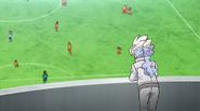 Hakuryuu watching the match Galaxy 13 HQ