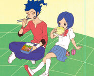 KyouAoi eat