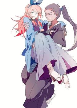 Nishiki and Midori