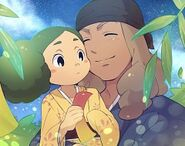 Inazuma Eleven GO konoha and kusaka