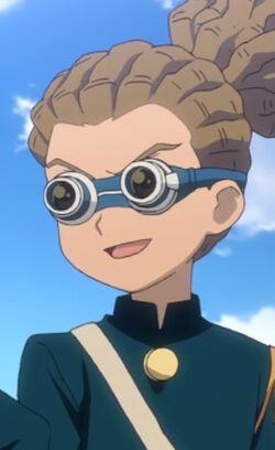 Kidou in Raimon Uniform